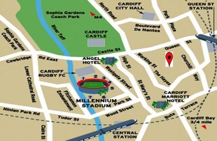 Cardiff Massage Location Free Parking