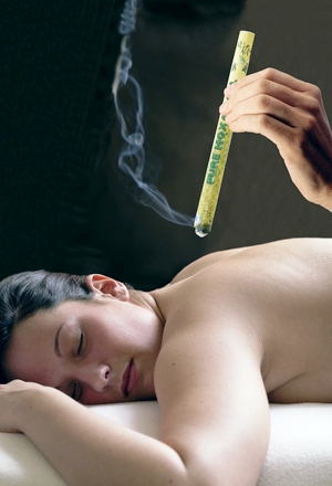 moxibustion is part of the Cardiff TCM (Traditional Chinese herbal Medicine) routine and the combination of the mugwort herbal properties with heat therapy are very effective for pain relief and muscular tension following sports injuries. Special Chinese TCM massage centre in Cardiff city centre